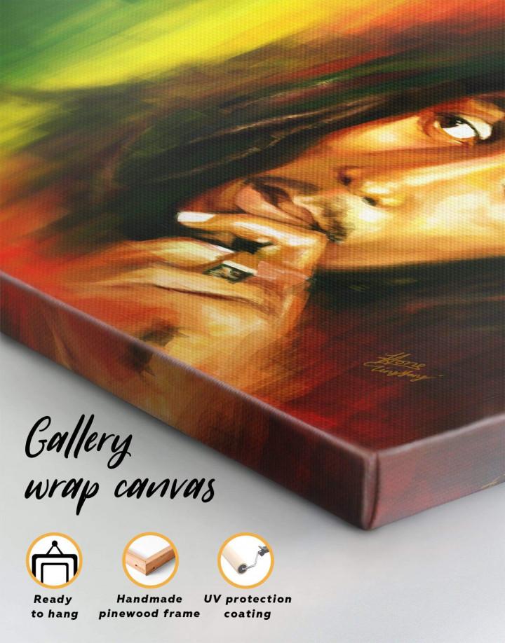 Bob Marley Canvas Wall Art - Image 5