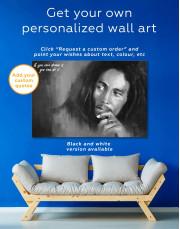 Bob Marley Canvas Wall Art - Image 1