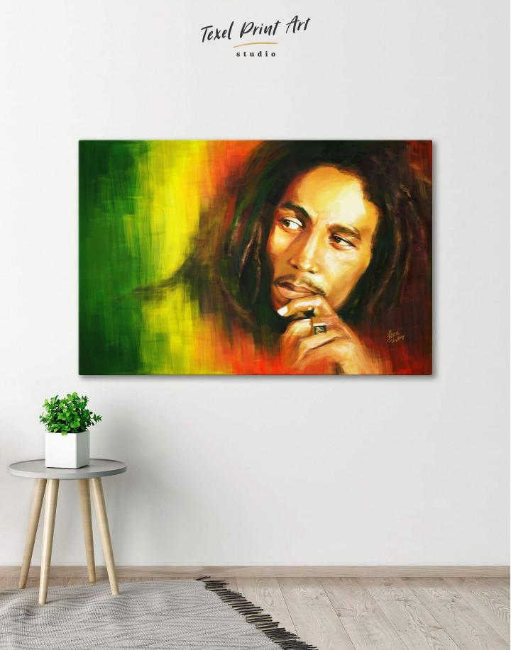 Bob Marley Canvas Wall Art