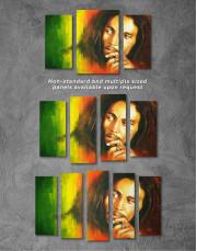 Bob Marley Canvas Wall Art - Image 2