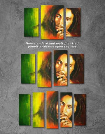 Bob Marley Canvas Wall Art - image 4