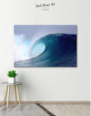 Powerful Ocean Wave Canvas Wall Art