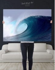Powerful Ocean Wave Canvas Wall Art - Image 4