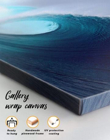Powerful Ocean Wave Canvas Wall Art - image 5