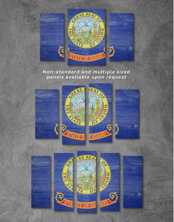 Idaho Flag Canvas Wall Art - image 4