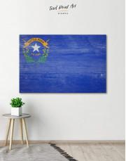 Nevada Flag Canvas Wall Art
