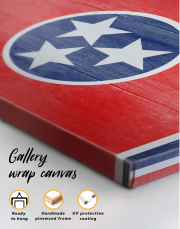 Flag of Tennessee State Canvas Wall Art - image 5