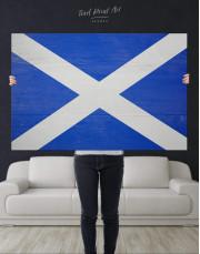 Scotland Flag Canvas Wall Art - Image 4