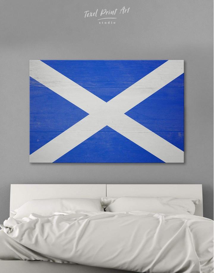Scotland Flag Canvas Wall Art