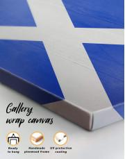 Scotland Flag Canvas Wall Art - Image 5
