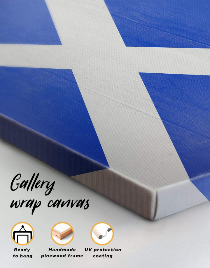 Scotland Flag Canvas Wall Art - Image 5