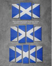 Scotland Flag Canvas Wall Art - Image 2