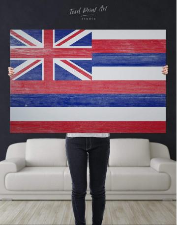 Hawaii Flag Canvas Wall Art - image 4