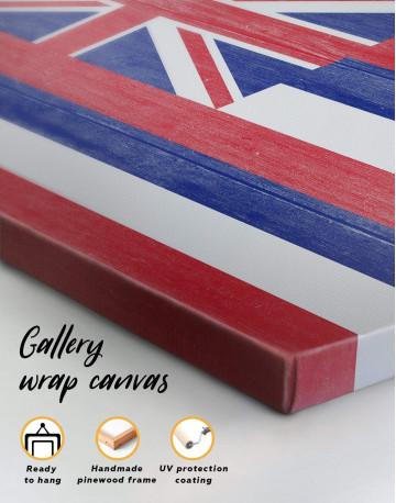 Hawaii Flag Canvas Wall Art - image 5