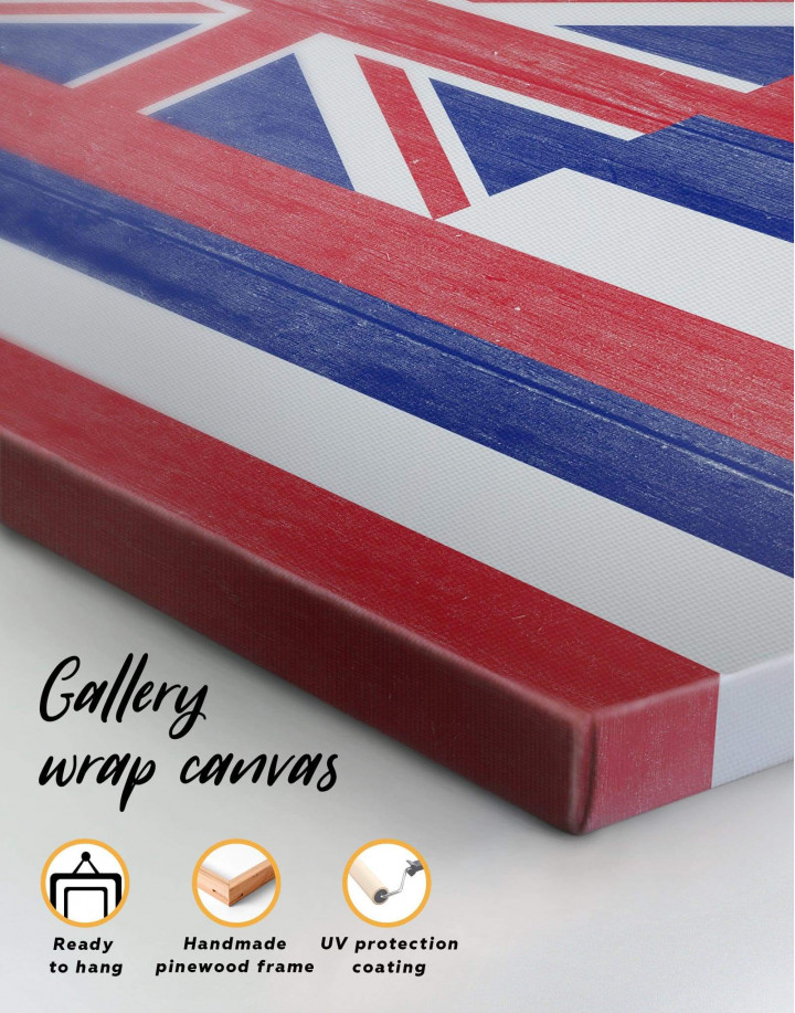 Hawaii Flag Canvas Wall Art - Image 5