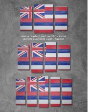 Hawaii Flag Canvas Wall Art - Image 2