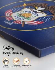 Utah Flag Canvas Wall Art - Image 5