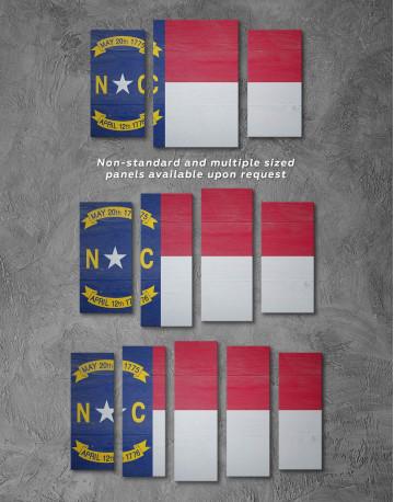 Flag of North Carolina Canvas Wall Art - image 2