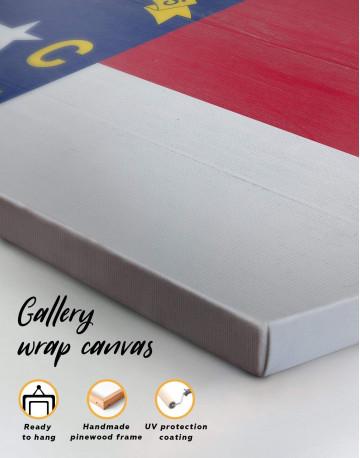 Flag of North Carolina Canvas Wall Art - image 6