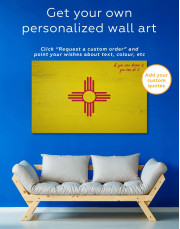 Flag of New Mexico Canvas Wall Art - Image 1