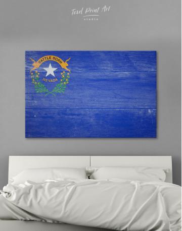 Flag of Nevada Canvas Wall Art
