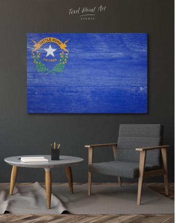 Flag of Nevada Canvas Wall Art - image 3
