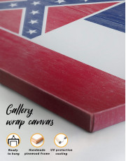 Mississippi Flag Canvas Wall Art - Image 4