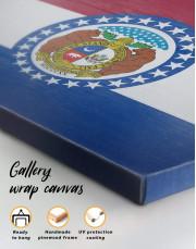 Missouri Flag Canvas Wall Art - Image 5