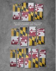 Flag of Maryland Canvas Wall Art - Image 2
