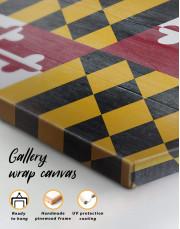 Flag of Maryland Canvas Wall Art - Image 5