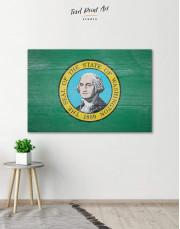 Washington State Flag Canvas Wall Art