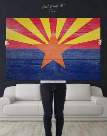 State Flag of Arizona Canvas Wall Art - image 4