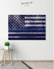 Modern Flag Of The USA Canvas Wall Art