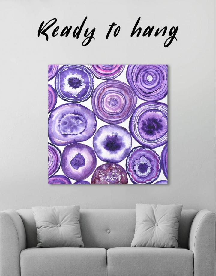 Abstract Circle Canvas Wall Art - Image 0
