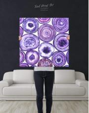 Abstract Circle Canvas Wall Art - Image 2