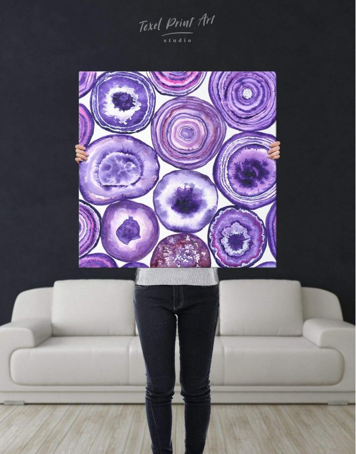 Abstract Circle Canvas Wall Art - Image 3