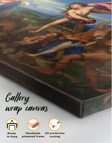 Bacchus and Ariadne by Titian Canvas Wall Art - image 3