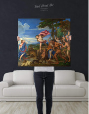 Bacchus and Ariadne by Titian Canvas Wall Art - Image 2