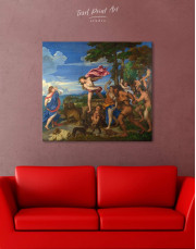 Bacchus and Ariadne by Titian Canvas Wall Art