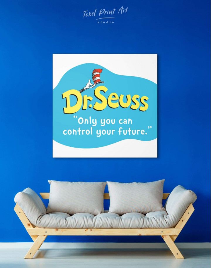 Only You Can Control Your Future Canvas Wall Art