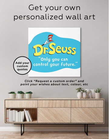 Only You Can Control Your Future Canvas Wall Art - image 1
