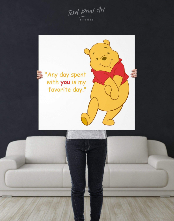 Any Day Spent With You Is My Favorite Day Canvas Wall Art - Image 2