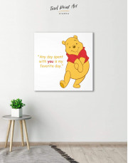 Any Day Spent With You Is My Favorite Day Canvas Wall Art