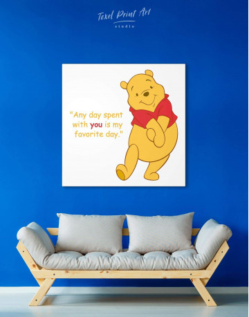 Any Day Spent With You Is My Favorite Day Canvas Wall Art - image 3