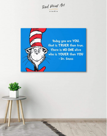 Dr.Seuss Quote Canvas Wall Art - image 3