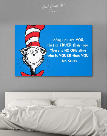 Dr.Seuss Quote Canvas Wall Art
