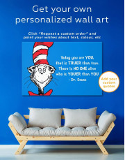 Dr.Seuss Quote Canvas Wall Art - Image 2