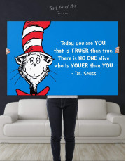 Dr.Seuss Quote Canvas Wall Art - Image 1