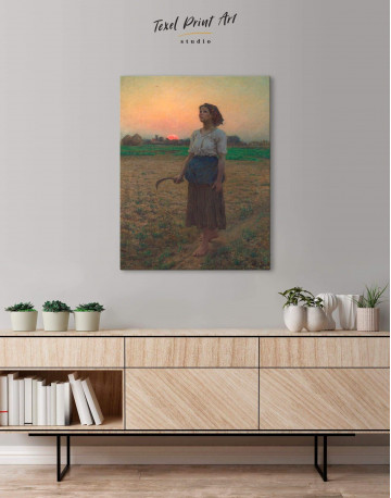 The Song Of The Lark Canvas Wall Art - image 3