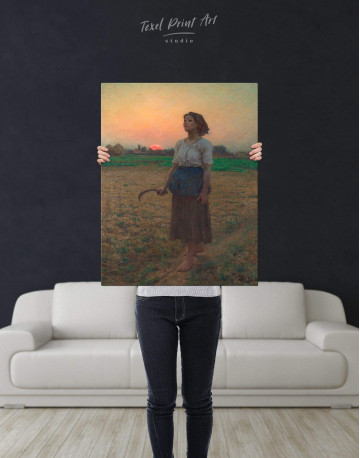 The Song Of The Lark Canvas Wall Art - image 2